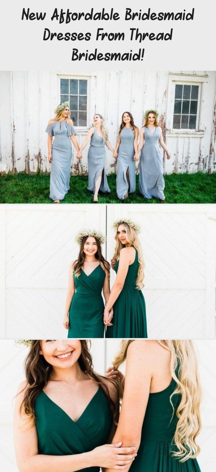 Light blue boho style affordable dresses for bridesmaids from Thread Bridesmaid! #bridesmaids #bridesmaid #bridesmaiddresses #BridesmaidDressesCoral #BridesmaidDresses2019 #TaupeBridesmaidDresses #PlumBridesmaidDresses #RusticBridesmaidDresses