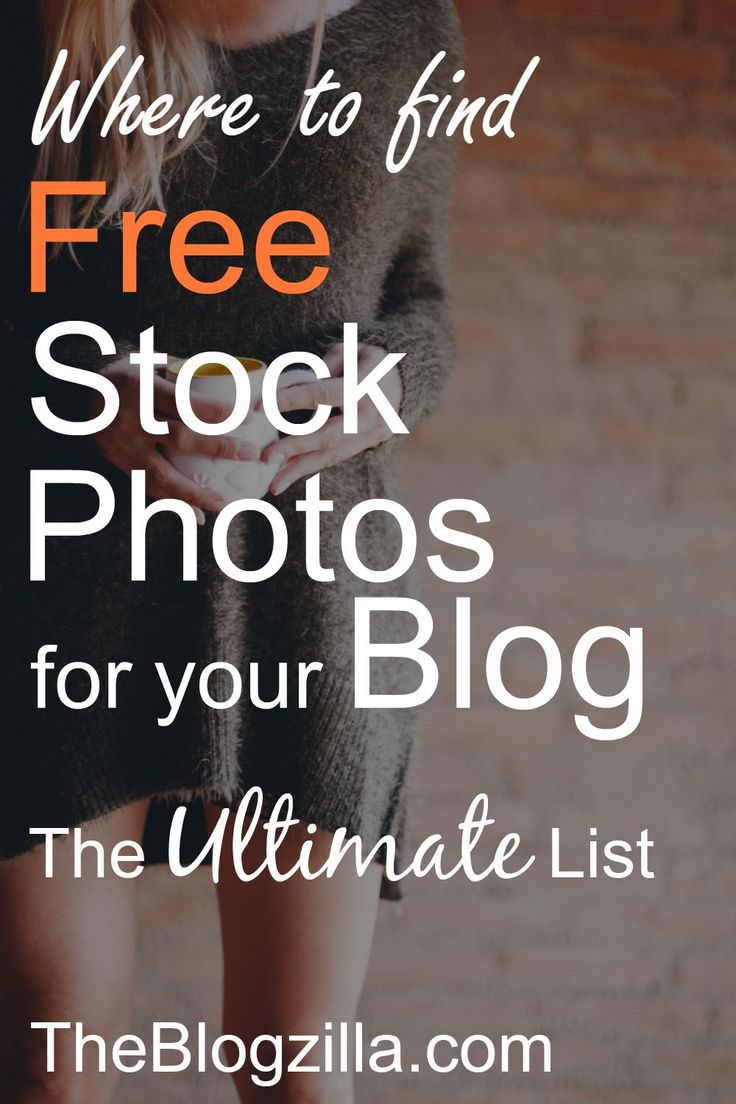Where to Find Free Photos for your Blog – the Ultimate List