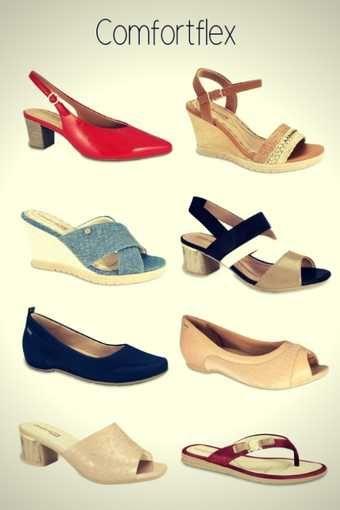 9e004cf134 Marca de Calçados Confortáveis Femininos Comfortflex