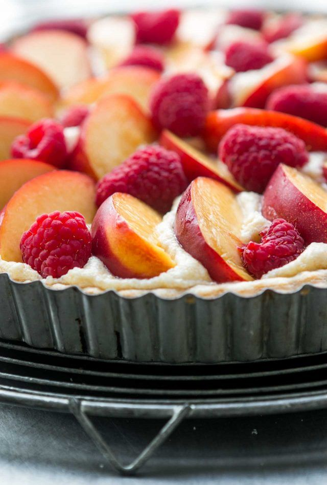Summer Fruit Tart with Almond Cream