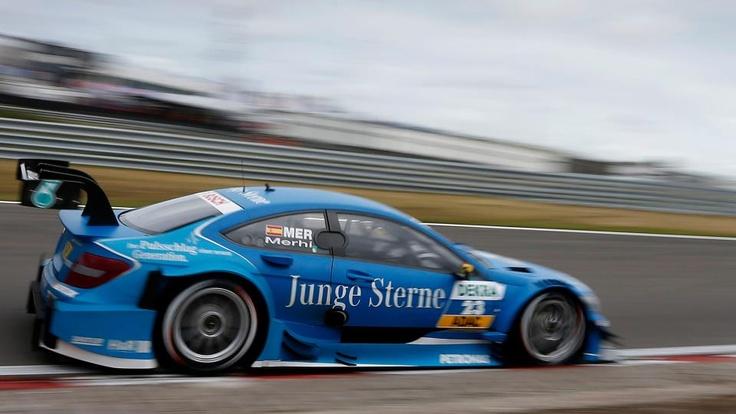 dtm Round 7, 24-26 August 2012. Roberto Merhi, Junge Sterne Mercedes AMG C-Coupé