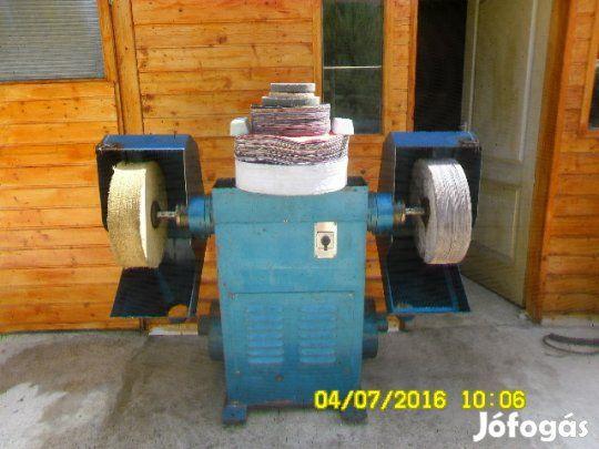 Polircsiszológép,fémcsiszológép, polirozógép állványos eladó - Felsőzsolca, Borsod-Abaúj-Zemplén
