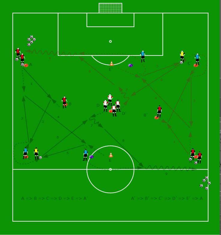 """Futbol programa de diseño y ejercicios """"PASES 2"""""""