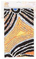 Warlukurlangu Teatowel Cotton - 47cm x 73cm Artist: Liddy Walker Code: TT37 Price: $12.00 or 2 for $22.00