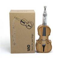 Best Wood E Cigarette Mod Violin Style E Cig VIO Brand Unique Vaporizer Mod