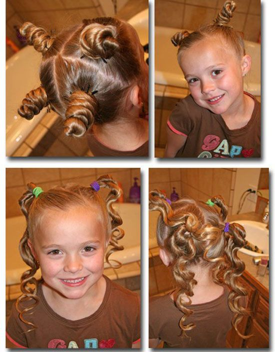 Best Cute Simple Unique Little Girls Kids Hairstyles Haircuts 14