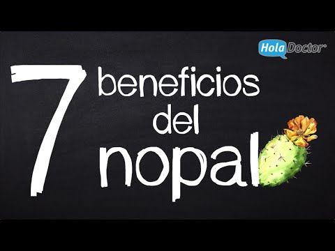 7 beneficios del nopal