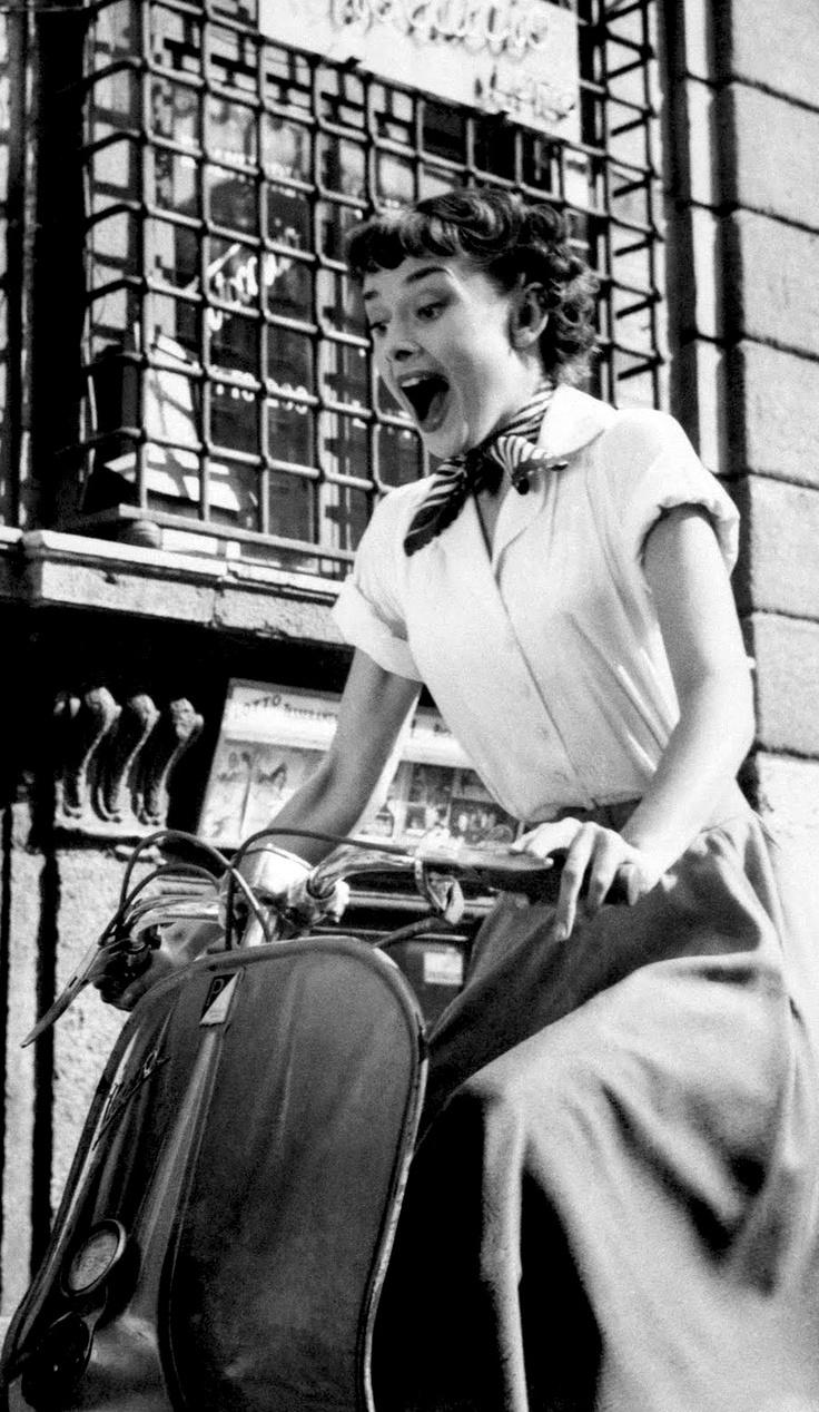Audrey Hepburn in Roman Holiday (William Wyler, 1953)