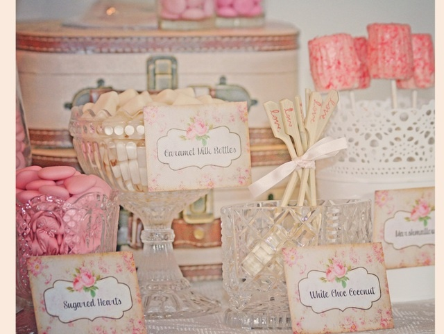 Pink Chic Treat Table