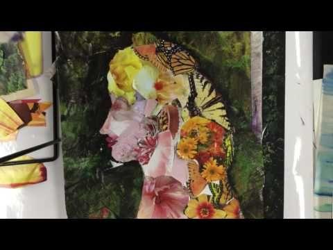 Giuseppe Arcimboldo's Collage Portrait - YouTube