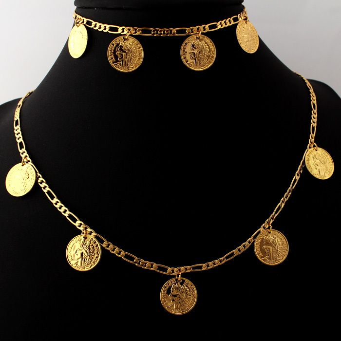 Cheap set top box dreambox, Buy Quality set stationary directly from China set top tv aerial Suppliers:                       Jewelry Sets Gold Vintage French Necklace Bracelet 18K Real Gold Chains Wholesale Coins Jewe