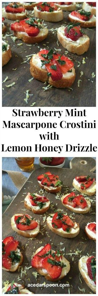 Mascarpone Semifreddo With Strawberries And Black Pepper Honey Recipe ...