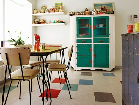 12 best new room images on Pinterest - küchen im retro stil