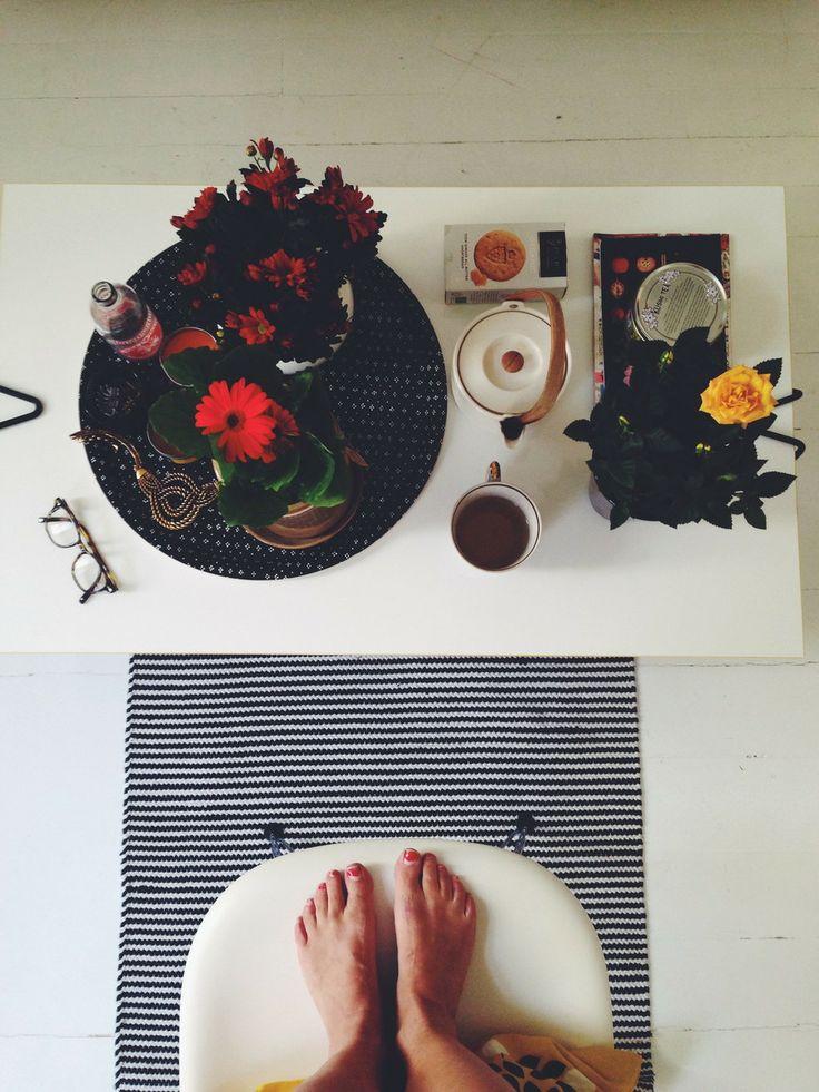 Kukkien keskellä - visual diary | Lily.fi