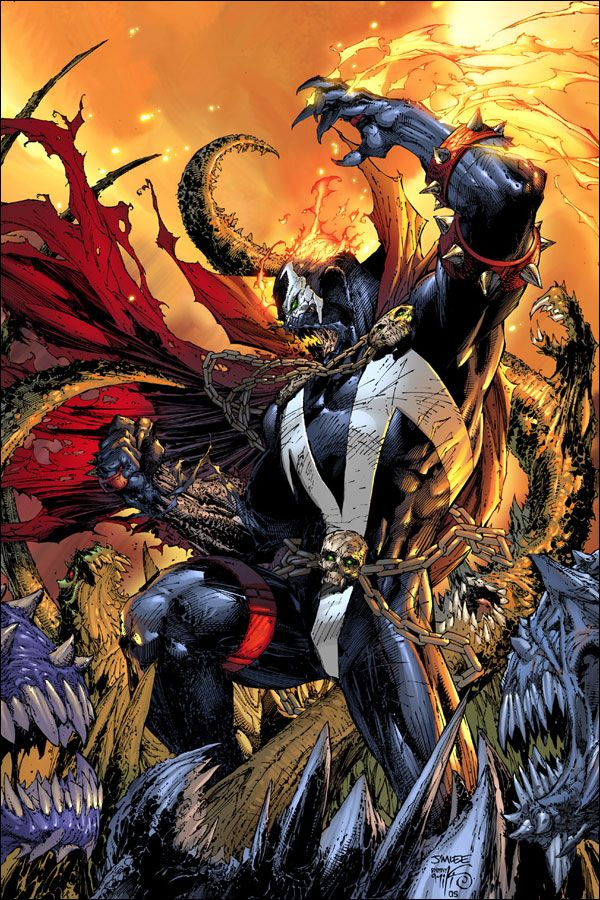 Comin' from the hell of Todd McFarlane's mind, emerge the cursed man, looking for his revenge, with the chains of hades, the Spawn.