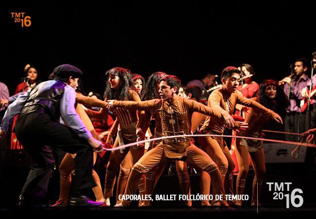 Primera gala del Ballet Folclórico de Temuco tras su llegada de la gira por Europa