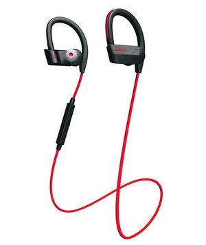 Whether you're lifting weights or going for a run, being tethered to your phone is often a hindrance. After charging these earbuds for just 15 minutes, they'll DJ your workout—sans the cord.