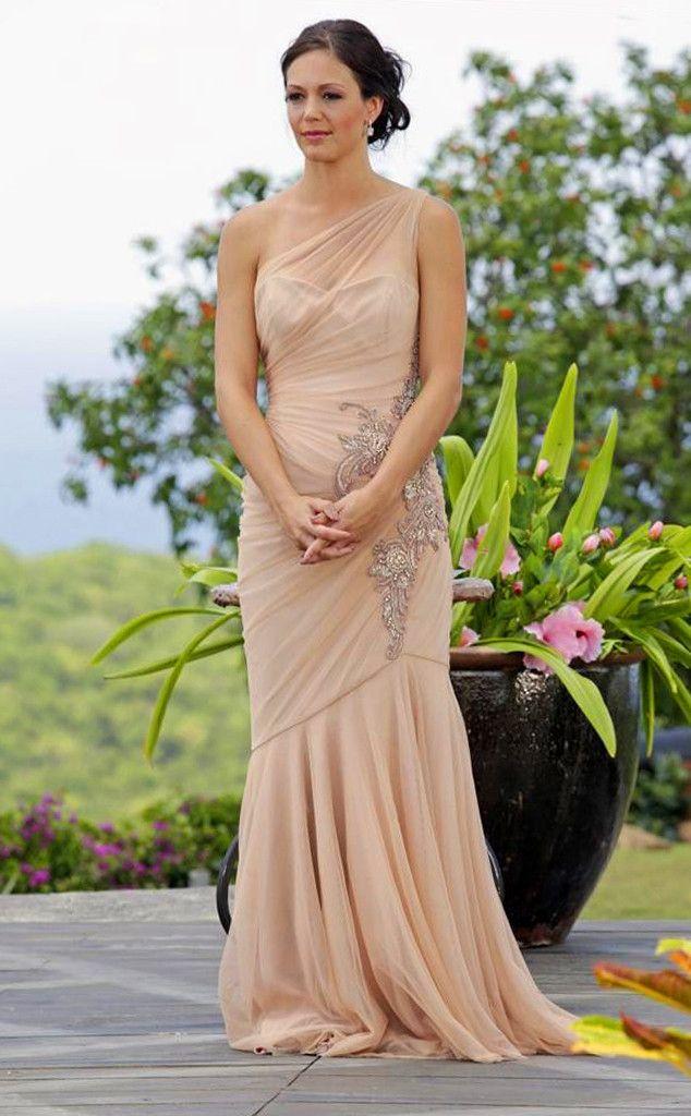 Desiree Hartsock, The Bachelorette in a Randi Rahm Gown Bachelorette season 9