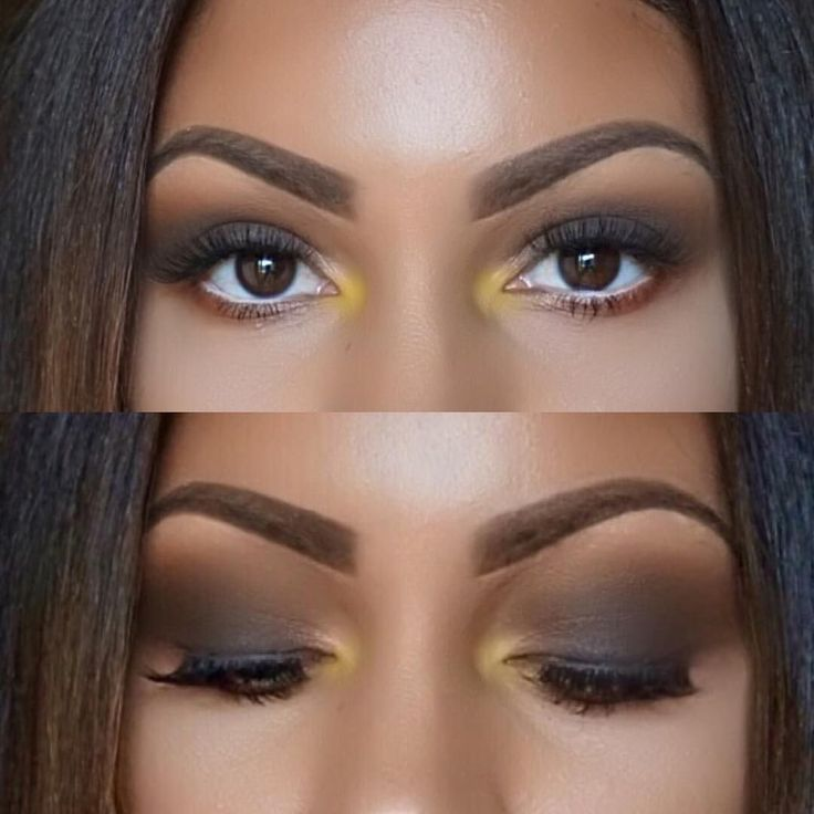 Love this smokey eye with a pop of color