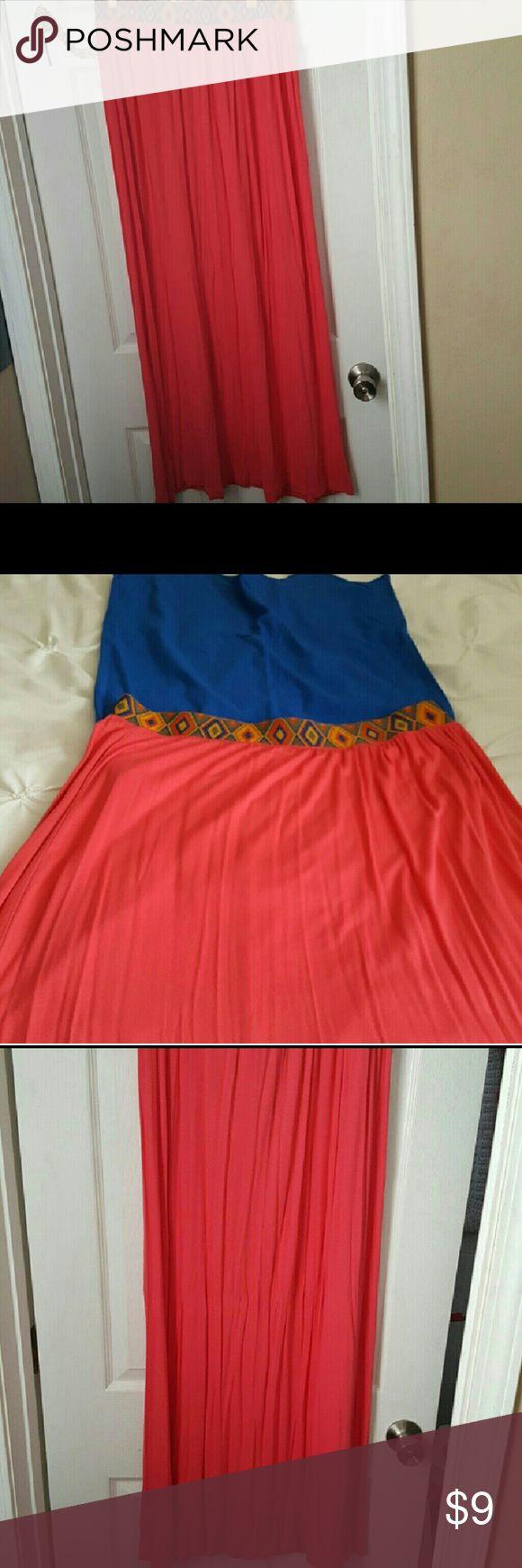 Maxi skirt Orange maxi skirt Skirts