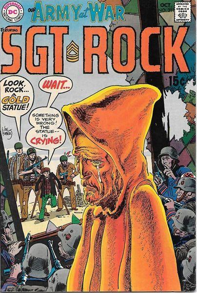 Our Army At War Comic Book #211, DC Comics 1969 FINE+ • $18.99 - PicClick