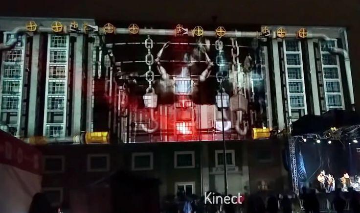 Interactive Mapping Kinect for Windows. Eklektik Session Wrocław 2016. ESK https://vimeo.com/172382074
