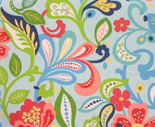 "Mary Jo's Cloth Store - Fabrics - Wildwood-Opal (Richloom)  54"" wide and only 7.98 per yard. WOW"