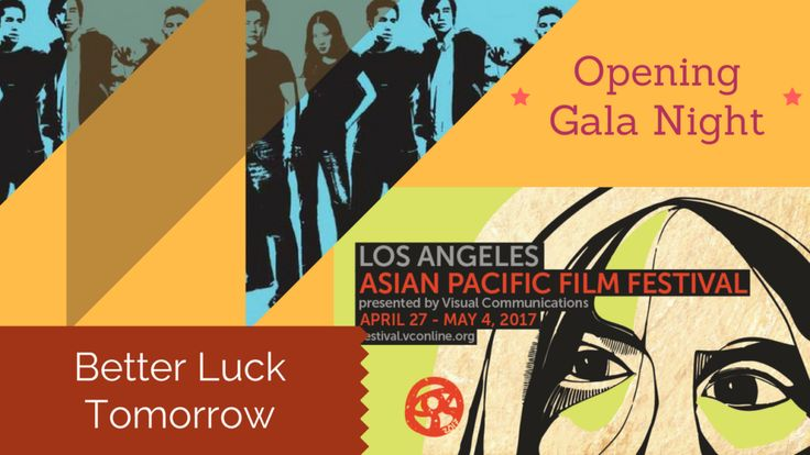 Better Luck Tomorrow Shows on Gala Night at the 33rd Los Angeles Asian Pacific Film Festival