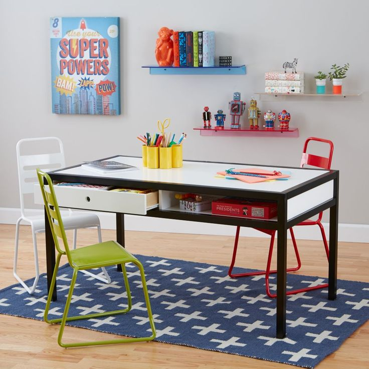 Adjustable Hi-Fi Play Table (White/Black)