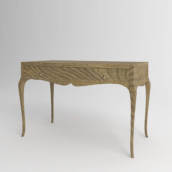 Письменный стол Villagio из натурального дерева. Артикул: D005. Размеры ДхШхВ: 130x65x80 см. Материал: дуб. Цвет: золотой дуб