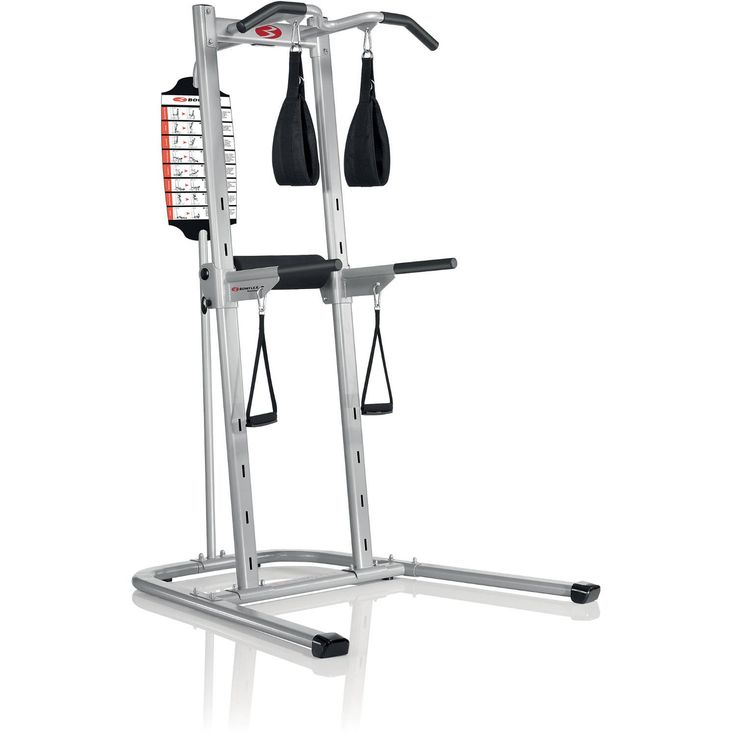 Body Tower Sports Indoor Fitness Strength Training Exercise Equipment Home Gym Pull Up/Chin Up Station and Dip Station, Powder Coated Finish Focus on Quads, Abdominals, Biceps, triceps, Deltoids, Hips. From the experts in at-home strength and conditioning comes the new Body Tower. This multi-station tower has a unique and easy-to-use feature: the EZ-Adjust horizontal bars, which let you increase the variety of your exercises, raise the intensity of your workouts and improve the results of...