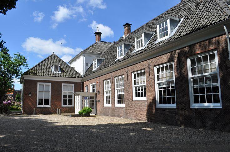 Entree Huis de Werve.