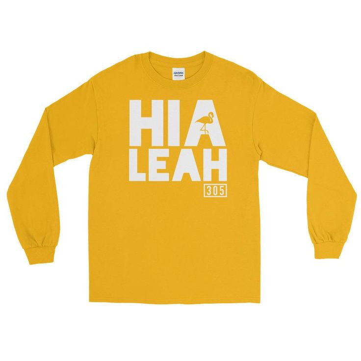 Hialeah Mi Barrio Long Sleeve T-Shirt