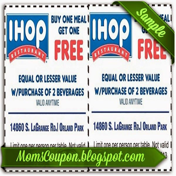 Ihop printable coupons are found on this archive page. In , Ihop stands for international house of pancakes. They serve up their pancakes all day along breakfast noon and night. They also serve dinner items as well as breakfast all day long. sfathiquah.ml >>.
