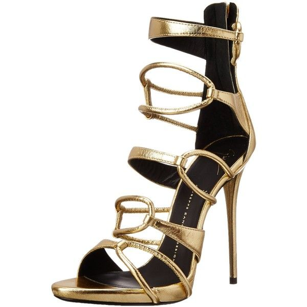 1000  ideas about Gold Sandal Heels on Pinterest | Gold strappy ...