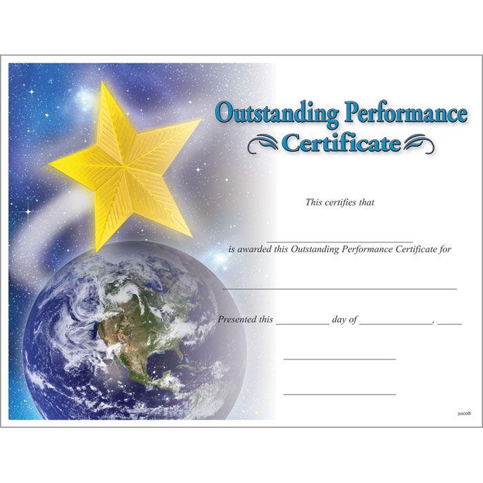 Star Performer Certificate Templates 7 Best Templates Regarding Star Performer Certificate Templates Birth Certificate Template Awards Certificates Template