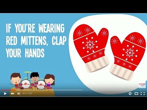 Mittens Song for Kids | Winter Song | Colors Song - YouTube