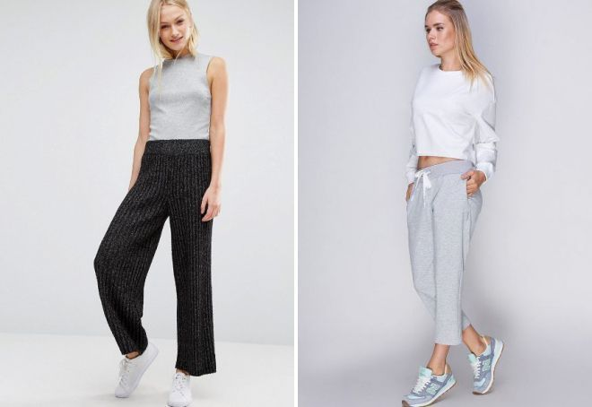 outlet store 737f1 f5129 Pantaloni lavorati a maglia - vestiti belli e comodi per ...