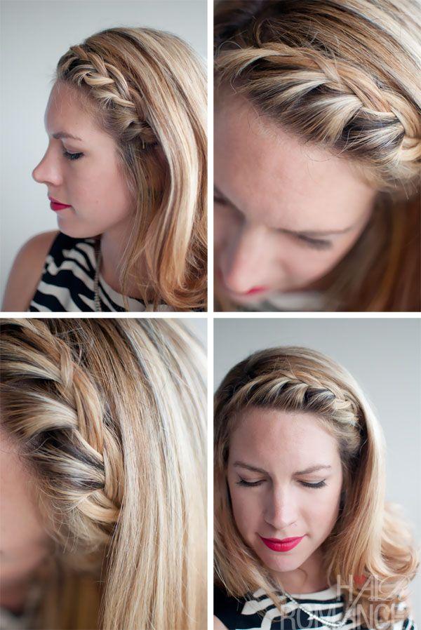 Headband braid: Step-by-step tutorial | All Things Hair UK