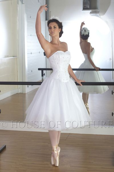 ballet inspired wedding dress - Google Search