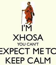 Xhosa - Keep Calm