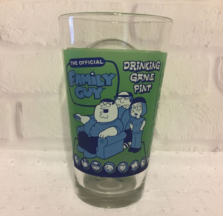 The Official Family Guy Drinking Game Pint Glass. | eBay!