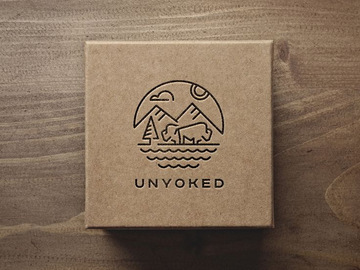 Logo for unyoked, a platform which will provide short-stay accommodation in secluded natural locations within a close drive from the city for individuals to book and stay in.