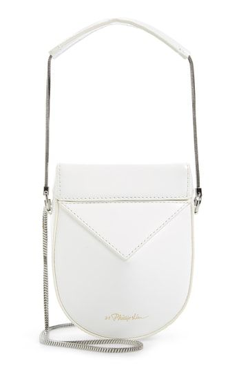 81f1cafa825 3.1 Phillip Lim Mini Soleil Chain Strap Leather Shoulder Bag