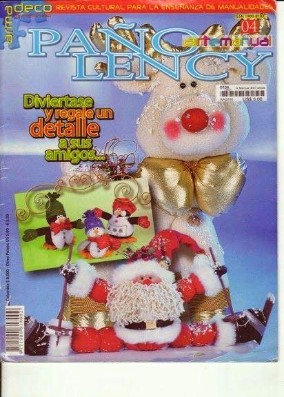 revista de manualidades navideña