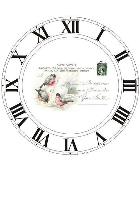 DECO-DRAWER ~ ~ TIME STOP TIME - About clocks and transfers