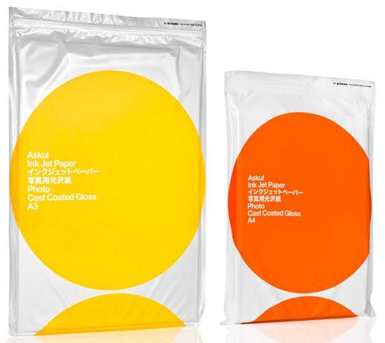 stockholm design lab: ASKUL paper packaging