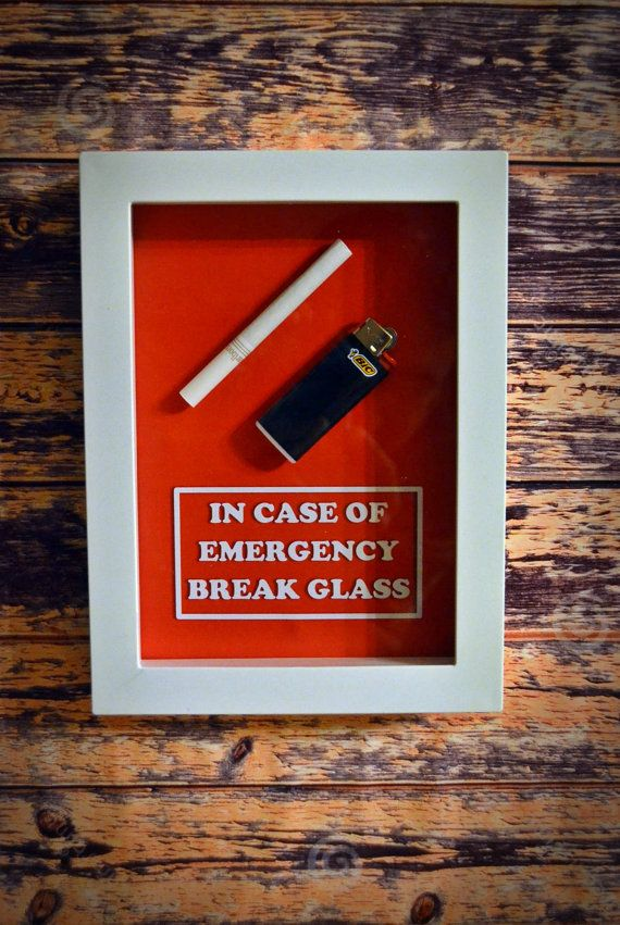 birthday gift for smoker gift for boyfriend gift for husband gift for him gift for her in case of emergency box cigarette lighter gift for