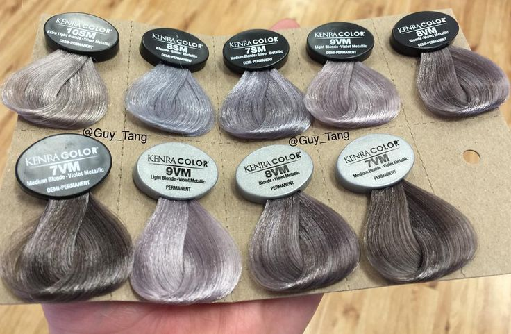 """""""#fiftyshadesofgrey and a GuyTang Favorites for endless smoked out tones with @kenraprofessional permanent and Demi permanent color options! We all have a…"""""""