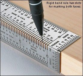 Clever New Tool! Incra Rigid Bend Rule